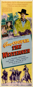 "Movie Posters:Western, The Westerner (United Artists, 1940). Insert (14"" X 36"")...."