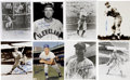 """Autographs:Photos, Vintage Baseball Stars Signed Photographs Lot of 8. Great group ofsigned 8x10"""" photos from eight vintage baseball stars. ..."""