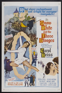 """Snow White and the Three Stooges (20th Century Fox, 1961). One Sheet (27"""" X 41""""). Comedy"""