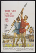 "Movie Posters:Adventure, Damon and Pythias (MGM, 1962). One Sheet (27"" X 41""). Adventure...."