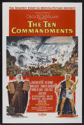 """Movie Posters:Historical Drama, The Ten Commandments (Paramount, 1956). One Sheet (28"""" X 41.75"""")Style A. Historical Drama...."""