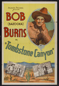 "Movie Posters:Western, Tombstone Canyon (Sono Art-World Wide Pictures, 1932). One Sheet (27"" X 41""). Western...."