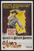 "Movie Posters:Adventure, Gold of the Seven Saints (Warner Brothers, 1961). One Sheet (27"" X40.5""). Adventure...."
