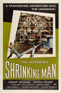 "Movie Posters:Horror, The Incredible Shrinking Man (Universal International, 1957). OneSheet (27"" X 41"")...."