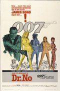 """Movie Posters:James Bond, Dr. No (United Artists, 1962). One Sheet (27"""" X 41"""")...."""