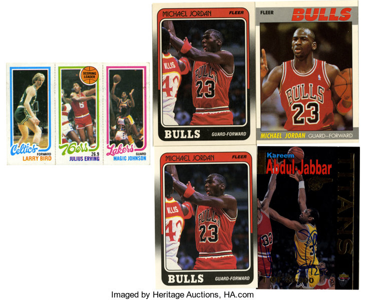 1980s Basketball Card Collection 5 Includes 1980 81