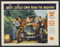 "Movie Posters:Comedy, Comin' Round the Mountain (Universal, 1951). Lobby Card (11"" X 14""). Comedy...."
