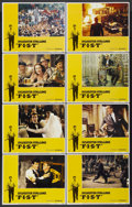 """Movie Posters:Drama, F.I.S.T. (United Artists, 1977). Lobby Card Set of 8 (11"""" X 14"""").Drama.... (Total: 8 Items)"""
