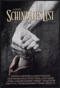 "Movie Posters:Academy Award Winner, Schindler's List (Universal, 1993). One Sheet (26.75"" X 39.75"") DS.Academy Award Winner...."