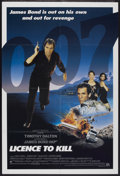 "Movie Posters:James Bond, Licence to Kill (United Artists, 1989). International One Sheet(27"" X 40""). James Bond...."