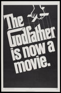 "Movie Posters:Crime, The Godfather (Paramount, 1972). One Sheet (27"" X 41"") Advance.Crime...."