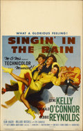 "Movie Posters:Musical, Singin' in the Rain (MGM, 1952). Window Card (14"" X 22"")...."