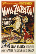"Movie Posters:Drama, Viva Zapata! (20th Century Fox, 1952). One Sheet (27"" X 41"")...."