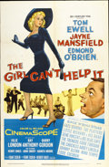 "Movie Posters:Comedy, The Girl Can't Help It (20th Century Fox, 1956). One Sheet (27"" X41"")...."