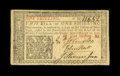 Colonial Notes:New Jersey, New Jersey March 25, 1776 1s John Hart Very Fine....