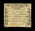 Colonial Notes:Massachusetts, Massachusetts October 18, 1776 1s Choice Very Fine....