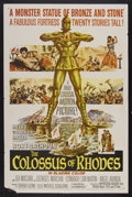 "Movie Posters:Adventure, The Colossus of Rhodes (MGM, 1961). One Sheet (27"" X 40.5"").Adventure...."