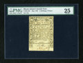 Colonial Notes:Rhode Island, Rhode Island May 1786 2s/6d PMG Very Fine 25....