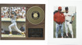 Autographs:Photos, Superstar Sluggers Signed Photographs Lot of 2. Each of the threemen who offer signatures of here dominated the batter's b...