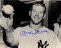 Autographs:Photos, Mickey Mantle Signed Photograph. Brilliant example of the Mick'sdesirable signature is afforded by way of the attractive 1...
