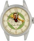 Baseball Collectibles:Others, 1940s Babe Ruth Wristwatch. It was not only through his prodigiousbaseball skill that Babe Ruth became the most popular fi...