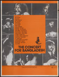 "Movie Posters:Rock and Roll, The Concert for Bangladesh (Apple/20th Century Fox, 1972).Personality Poster (28"" X 37""). Rock and Roll...."