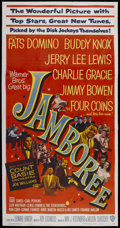 "Movie Posters:Rock and Roll, Jamboree (Warner Brothers, 1957). Three Sheet (41"" X 78.75""). Rockand Roll...."