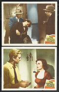 "Movie Posters:Film Noir, The Asphalt Jungle (MGM, 1950). Lobby Cards (2) (11"" X 14""). Film Noir.... (Total: 2 Items)"