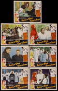 "Movie Posters:Black Films, Going to Glory, Come to Jesus (Toddy Pictures, 1946). Lobby Cards (7) (11"" X 14""). Black Films.... (Total: 7 Items)"