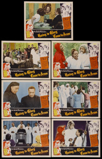 "Going to Glory, Come to Jesus (Toddy Pictures, 1946). Lobby Cards (7) (11"" X 14""). Black Films.... (Total: 7 I..."