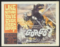 "Movie Posters:Science Fiction, Gorgo (MGM, 1961). Title Lobby Card (11"" X 14""). ScienceFiction...."