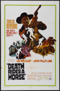 "Movie Posters:Western, Death Rides a Horse (United Artists, 1968). One Sheet (27"" X 41"").Western...."