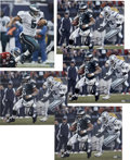 Football Collectibles:Others, Donovan McNabb Signed Oversized Photographs Lot of 5. The perennial Pro Bowler Donovan McNabb makes his signature available...