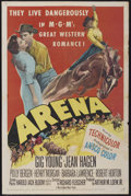 """Movie Posters:Western, Arena (MGM, 1953). One Sheet (27"""" X 41""""). Western...."""