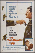 "Movie Posters:War, The Two-Headed Spy (Columbia, 1958). One Sheet (27"" X 41""). War...."