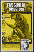 """Movie Posters:Western, Five Guns to Tombstone (United Artists, 1961). One Sheet (27"""" X41""""). Western...."""