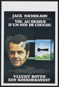 "Movie Posters:Academy Award Winner, One Flew Over the Cuckoo's Nest (United Artists, 1975). Belgian (14.25"" X 21.5""). Academy Award Winner...."