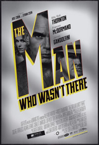 """The Man Who Wasn't There (USA Films, 2001). One Sheet (27"""" X 41"""") DS. Crime"""