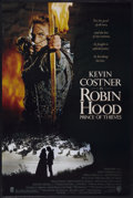 "Movie Posters:Adventure, Robin Hood: Prince of Thieves (Warner Brothers, 1991). One Sheet(27"" X 40"") SS and Autographed Art Print (8.5"" X 11""). Adve...(Total: 2 Items)"