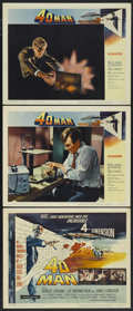 """Movie Posters:Science Fiction, 4D Man (Universal International, 1959). Title Lobby Card and LobbyCards (2) (11"""" X 14""""). Science Fiction.... (Total: 3 Items)"""