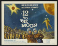 "Movie Posters:Science Fiction, 12 to the Moon (Columbia, 1960). Title Lobby Card (11"" X 14"").Science Fiction...."