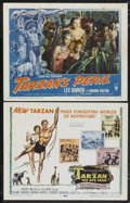 """Movie Posters:Adventure, Tarzan the Ape Man Lot (MGM, 1959). Title Lobby Card and Lobby Card(11"""" X 14""""). Adventure.... (Total: 2 Items)"""