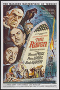 """Movie Posters:Horror, The Raven (American International, 1963). One Sheet (27"""" X 41""""). Horror...."""