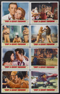 "Movie Posters:War, Cast a Giant Shadow (United Artists, 1966). Lobby Card Set of 8(11"" X 14""). War.... (Total: 8 Items)"
