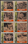 "Movie Posters:Western, McLintock! (United Artists, 1963). Lobby Card Set of 8 (11"" X 14"").Western.... (Total: 8 Items)"