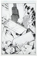 Original Comic Art:Covers, Christian Zanier and John Livesay - Rising Stars #11 Cover OriginalArt (Image, 2000)....