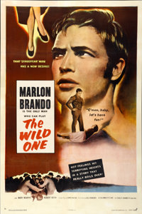 "The Wild One (Columbia, 1953). One Sheet (27"" X 41"")"