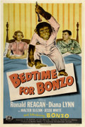 "Movie Posters:Comedy, Bedtime for Bonzo (Universal International, 1951). One Sheet (27"" X41"")...."