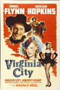 "Movie Posters:Western, Virginia City (Warner Brothers, 1940). One Sheet (27"" X 41"")...."