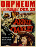 "Movie Posters:Western, Annie Oakley (RKO, 1935). Jumbo Window Card (22"" X 28"")...."
